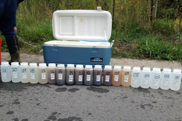 Park City water samples
