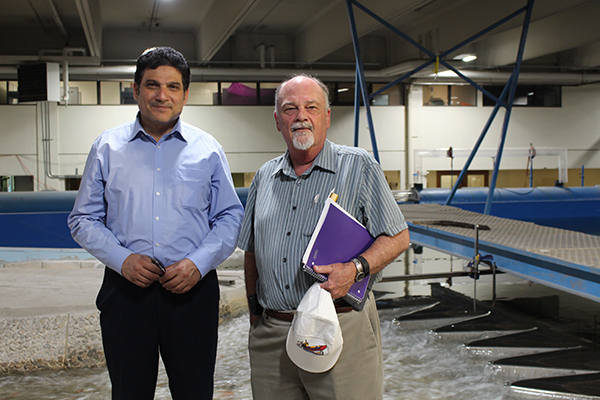 Former Egyptian Minister of Water & Irrigation Visits UWRL
