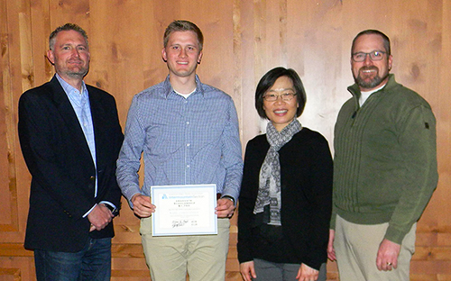 Karl Christensen Awarded AWWA Intermountain Section Scholarship