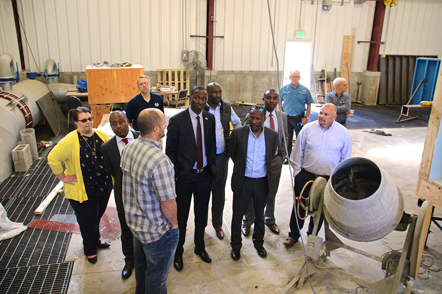 Kenyan delegation visits the UWRL
