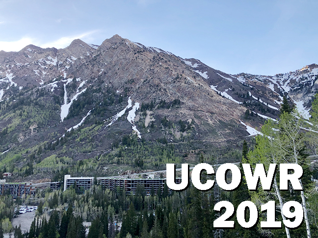 USU sponsors recent UCOWR Conference at Snowbird, UT