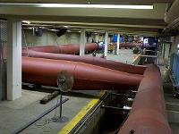 Model of 180-inch pipe supplying 180-inch Venturi Lake Meade, NV