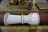 72-in Venturi meter testing