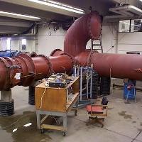Venturi calibration in simulated pipe