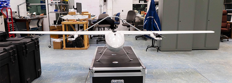 AggieAir's New GreatBlue Platform: A Hybrid VTOL/Fixed Wing UAV