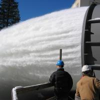 Salt Springs Dam fixed cone valve and hood commissioning