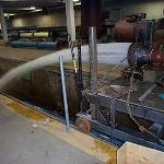 Salt Spring's Dam fixed cone valve and hood model