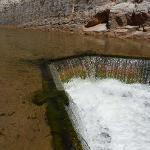 Virgin River Fish Barrier upstream sediment